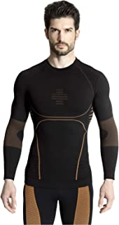 MD Men's Active Sport Long Sleeve Compression Shirt Baselayer Cool Dry