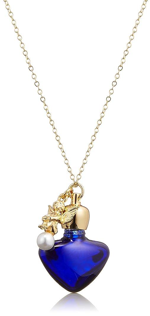 贅沢なブルーベル母ヒロセアトマイザー 1cc アロマペンダント密閉栓タイプ 15060P 瑠璃 エンゼル (ゴールド)