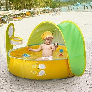 UV-Schutzfaktor 35 + mittlere Gr/ö/ße kilofly Pop-Up-Zelt mit 2 Heringen Reise-//Strandzelt f/ür Babys//Kleinkinder