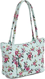 Vera Bradley Carson East West Tote Bag in Water Bouquet Signature Cotton