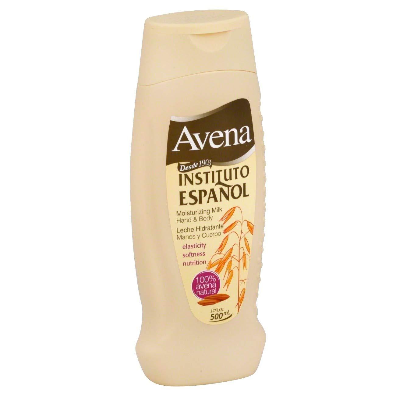 Translated Avena Moisturizing Superlatite Milk Hand Body Lotion 17 Pack 6 oz of