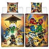 BERONAGE Lego Ninjago Kinder-Bettwäsche Ninja Crew 135x200