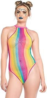 rainbow bodysuit costume