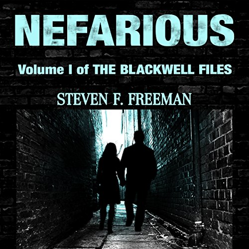 Nefarious audiobook cover art