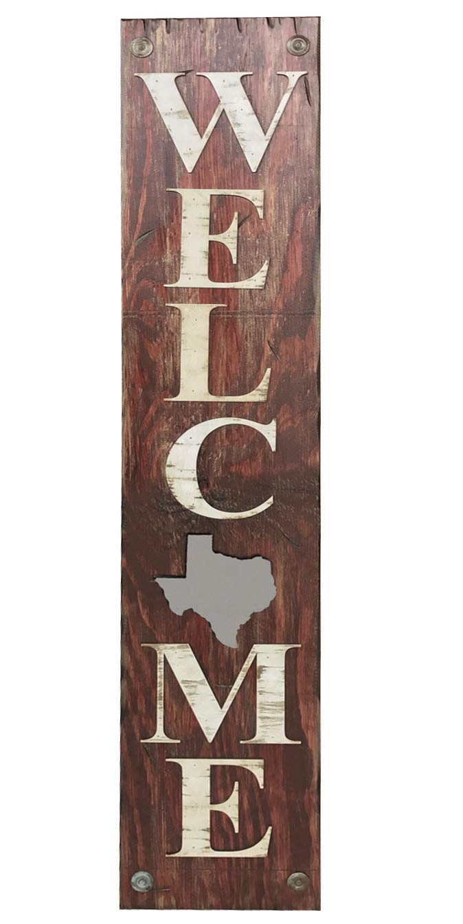 State Welcome SIGN FARM HOME We OFFer at cheap prices Bombing free shipping LAKE NM LA TEXAS NEW MEXICO LOUI