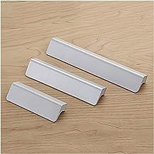 Deurhandvat Hardware Zilver Grijze Aluminium Laderen Ladehandgreep, Cabinet Handgrepen en Lade Trekstangen voor Knoppen Tr...