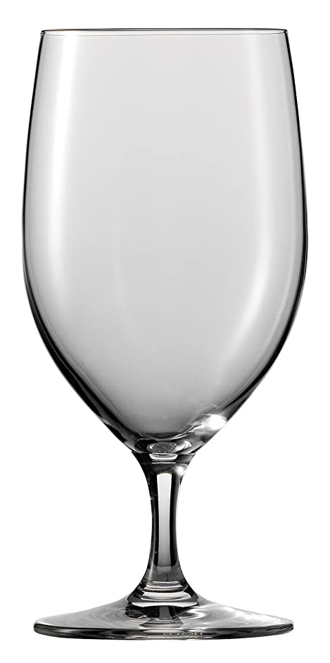 Schott Zwiesel Tritan Crystal Glass Forte Stemware Collection Water/Beverage/All Purpose Glass, 15-Ounce, Set of 6
