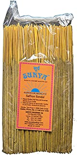 Surya Incense Saffron Sandal Incense Sticks Bundle from Company