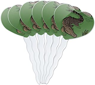 Best crocodile cupcake toppers Reviews