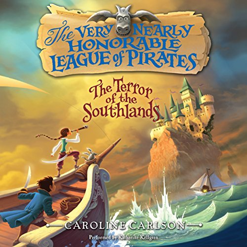 The Terror of the Southlands audiobook cover art