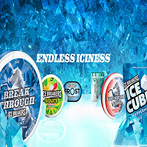 Ice Breakers Ice Cubes Sugar Free Gum with Xylitol, Bubble Breeze, 40 Count (Pack of 4)