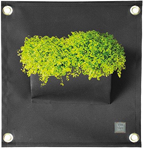 The Green Poche Le Amma1 40 x 50 cm. cm. Noir
