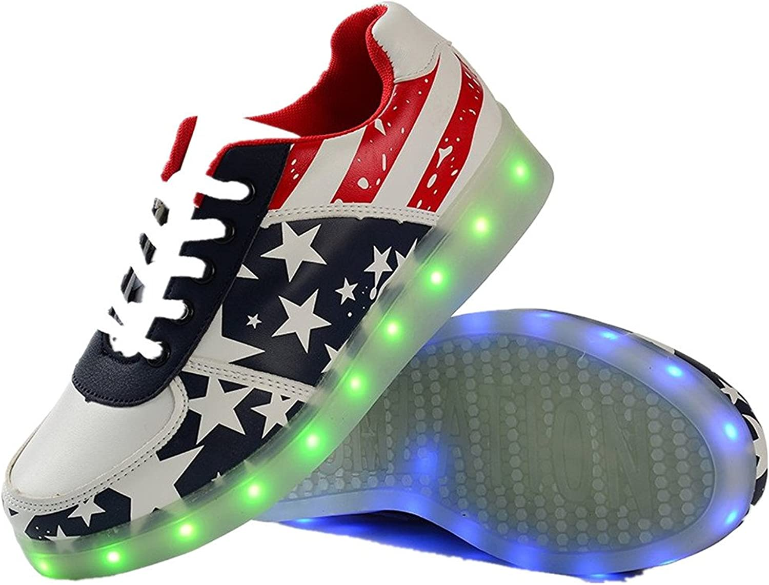 Jedi fight back Mens&Womens Light Up shoes LED Luminous Glowing Flashing Sneakers.