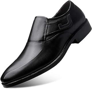 Dingziyue Scarpe da uomo in pelle Scarpe da uomo Business Dress Scarpe Uomo Set Di Piedi Scarpe da sposa (Colore: Nero, Ta...