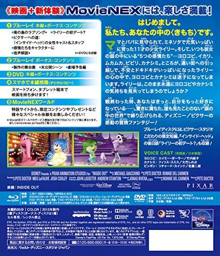 ウォルト・ディズニー・ピクチャーズ/ピクサー・アニメーション・スタジオ『インサイド・ヘッド』