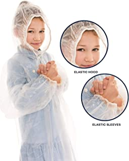 kids poncho with hood