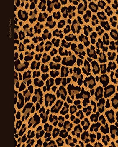 Notizbuch Liniert: Kleine Geschenkideen für Frauen; ein schönes Notizbuch (Taschenbuch, etwas kleiner als A4, mit 100 Seiten & Inhalt) Aus unserem Leopardenmuster Sortiment (Notizbücher, Band 11)