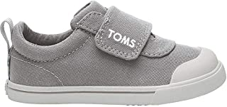 TOMS Kids Doheny (Toddler/Little Kid) Drizzle Grey Canvas 8 Toddler