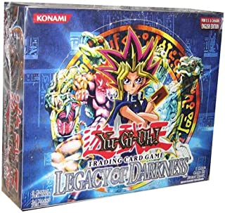 Yugioh Card Game - Legacy Of Darkness Booster Box - 24P9C