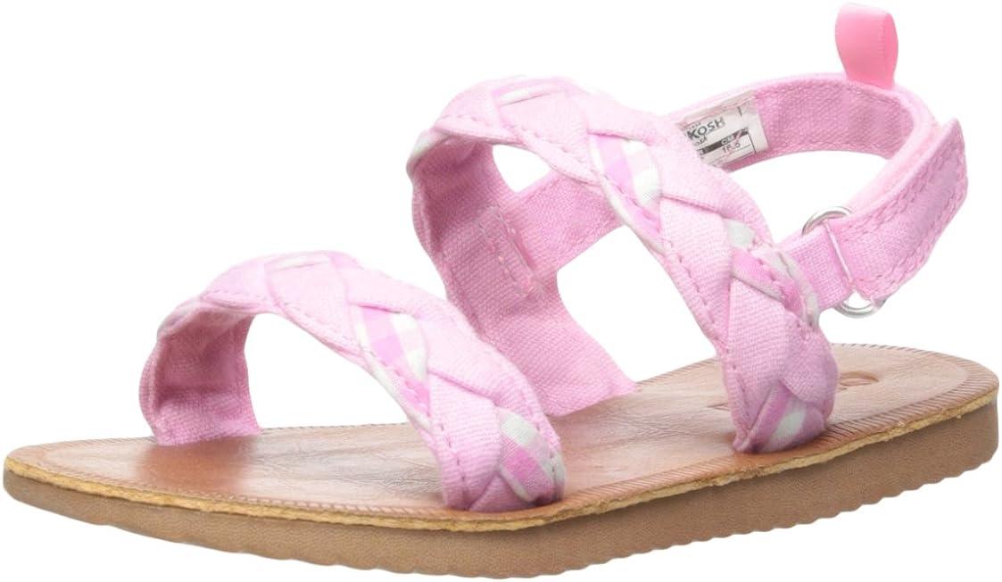 OshKosh B'Gosh Unisex-Adult Phillippa Braided Sandal High Special sale item quality new Girl's