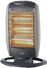 ELECTROTEK Estufa Halógena ET-EH1206, Cuenta con 3 Niveles de Temperatura 400W / 800W / 1200W y función de oscilación.