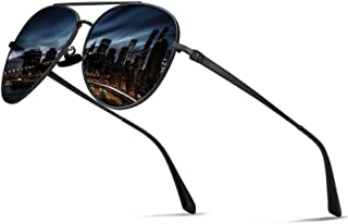 Guztag Classic Aviator Polarized Sunglasses For Men UV400...