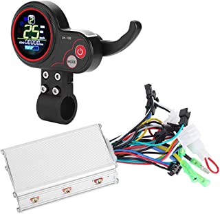 Motor Brushless Controller with Rainproof LCD Display Control Panel and Shift Switch Accessory for Electric Bike