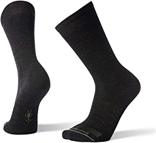 Anchor Line Crew Socks - Men's Ultra Light Cushioned Merino Wool Performance Socks