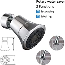 360 Rotatable Water Saver Faucet Water Saving Filter Sprayer for Bathroom Kitchen Tap Nozzle Filter Adapter