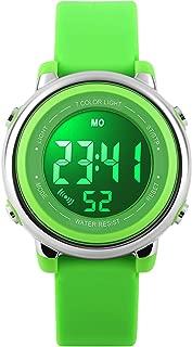 Kids Watch Sport Multi Function 50M Waterproof LED Alarm Stopwatch Digital Child Wristwatch for Boy Girl