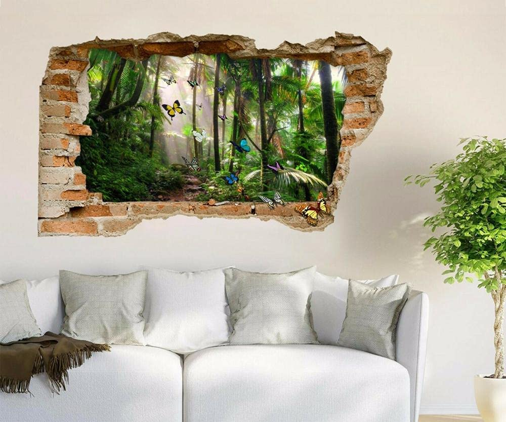 ORMMZR Wall Stickers 3D Decal OFFicial Same day shipping shop Butterfly Murals