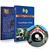 Bike-O-Vision - Virtual Cycling Adventure - Covered Bridges of Oregon - Perfect for Indoor Cycling and Treadmill Workouts - Cardio Fitness Scenery Video (Widescreen DVD #2)
