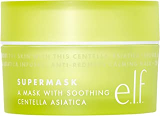 e.l.f. SuperMask, Rich, Soothing, Anti-Redness, Sensitive, Gel Formula, Calms Skin, Locks In Moisture, Plumps, Protects, R...