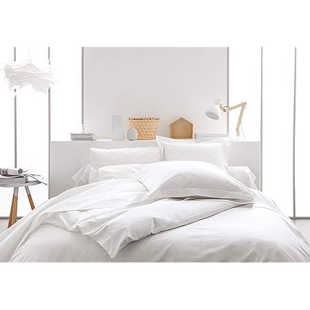 Today 201201 Drap Housse Coton - Blanc (Chantilly) - 200 x 160 cm