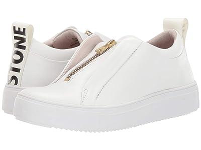 Blackstone Mid Sneaker Zip RL62 (White) Women