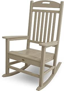Trex Outdoor Furniture Yacht Club Rocker Chair, Sand Castle