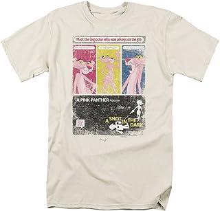 MGM Hombres de la pantera rosa camiseta marfil