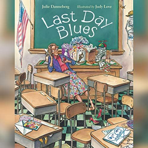Last Day Blues audiobook cover art