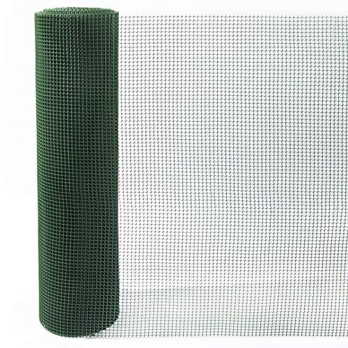 Catral 52010004 Grillage à Maille carrée Vert 0,2 x 2500 x 100 cm