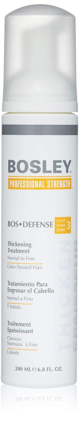 沈黙強制的活性化するBosley Defense Thickening Treatment For Color Treated 200 ml (並行輸入品)