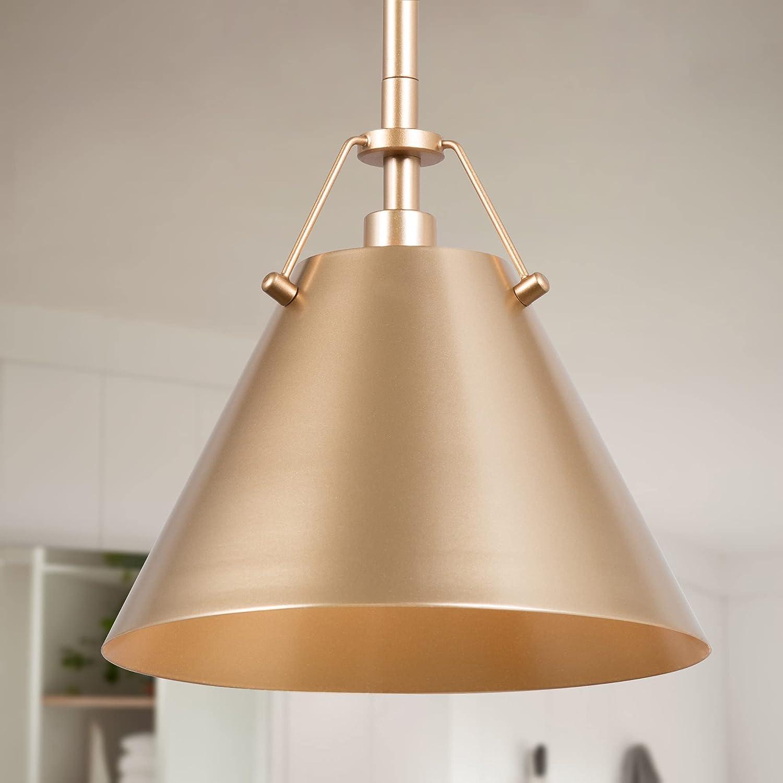 Optimant Lighting Gold Pendant Hanging Fi Modern Attention brand Light Baltimore Mall