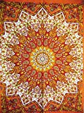 Traditionelle Jaipur Star Mandala Poster, Hippie Wand