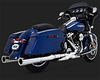 Vance & Hines Power Duals Exhaust Chrome for 2009-16 Touring Models