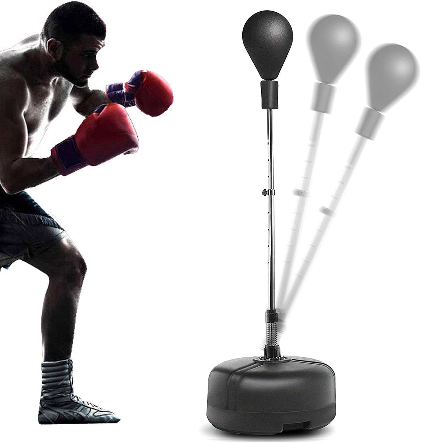Great interest Hurbo Boxing Punching Bag with San Diego Mall A Stand Speed Reflex