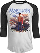 JeremiahR Marillion Misplaced Childhood Men's 3/4 Sleeve Raglan Baseball T Shirt Black