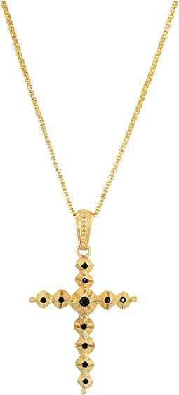 Dolce & Gabbana - Cross Necklace with Stones