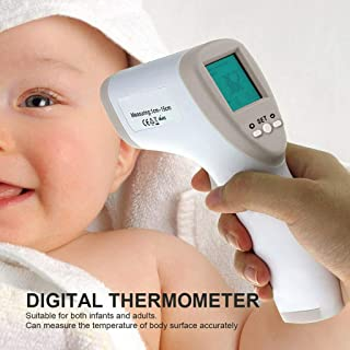 Multifuntional Digital Baby Thermometer, body infrared thermometer for Baby adult children forehead thermometer infrared temperature gun Hot Color Alarm