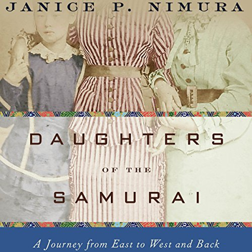 Daughters of the Samurai audiobook cover art