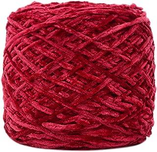 250g Gold Velvet Yarn Roving Scarf Knit Wool Yarn Thickness Warm Hat Household L