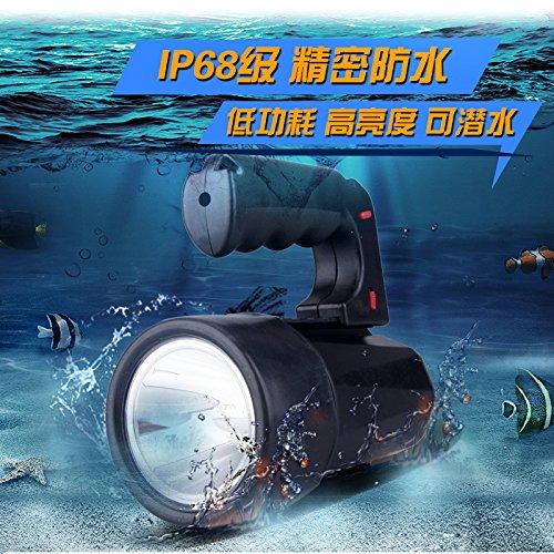 Jia & ER IP68Wasserdicht LED Dive Lights spezielle Licht Searchlight High-End Tauchen Taschenlampe Arbeitsleuchte